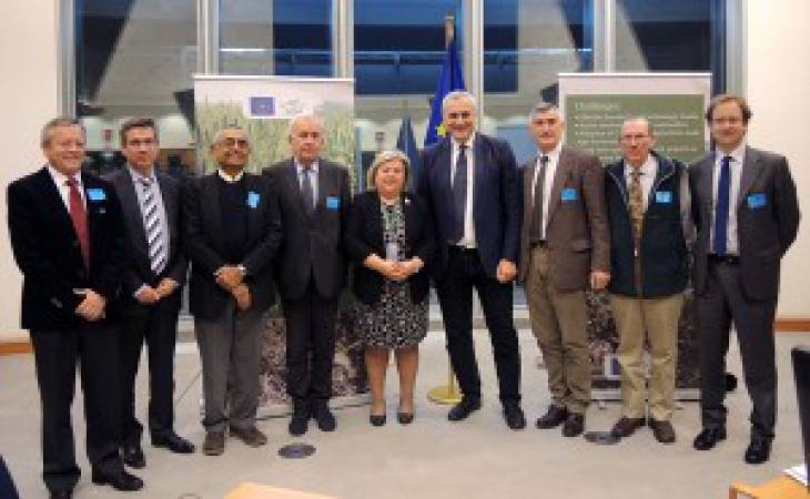 "The european parliament tackles the benefits of conservation agriculture in the seminar ""Making Sustainable Agriculture Real"""